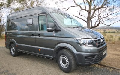 Jacana Seeker VW Crafter campervan