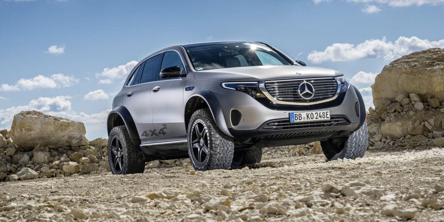 Mercedes-Benz off-road electric concept vehicle